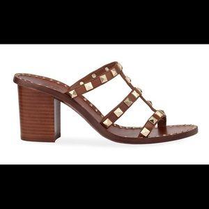 🆕 Ash Playa Studded Heeled Sandals  NEW Sz 36 NIB